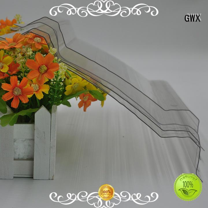 Quality GWX Brand polycarbonate polycarbonate corrugated sheet