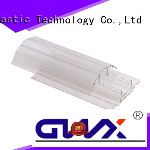 GWX Brand thickness u profile plastic connection supplier