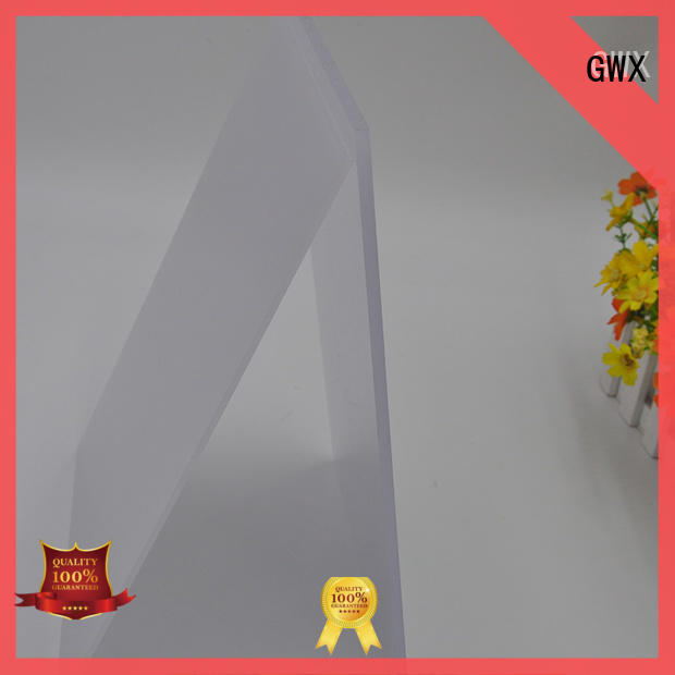 GWX 100% new virgin material polycarbonate light diffuser wholesale for Gazebo