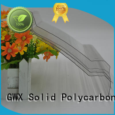 GWX quality guaranteed corrugated polycarbonate manufacturer for skylight