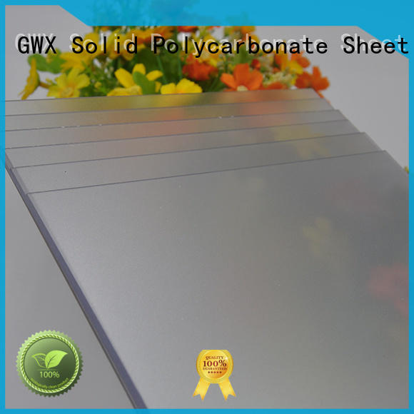 anti-scratch frosted lexan factory direct for garden house